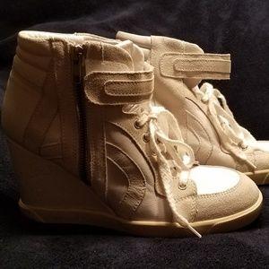 Topshop wedge sneaker
